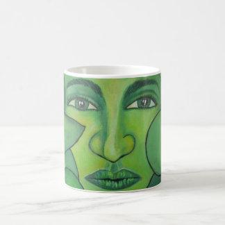 Taza De Café La señora Mug de Apple