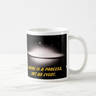 Taza De Café La supernova, cambio es un proceso, no un