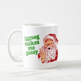 Taza De Café La yema hace que Santa Fart
