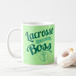 Taza De Café LaCrosse como Boss
