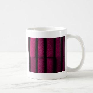 Taza De Café Ladrillos púrpuras