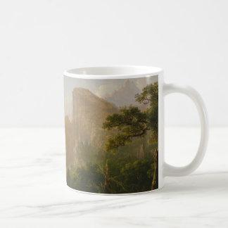"""Taza De Café Landscape-Scene from """"Thanatopsis """""""