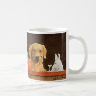 Taza De Café Las ampollas asaltan/las liebres del perro y de un