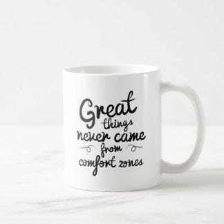 Taza De Café Las buenas cosas de Wellcoda nunca vinieron de
