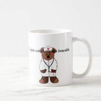 Taza De Café Las enfermeras hacen hospitales…