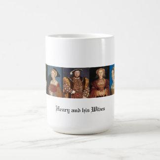 Taza De Café Las esposas del Enrique VIII