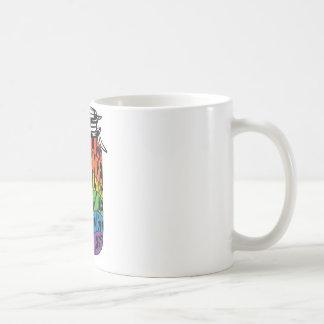 Taza De Café Las etiquetas de la camisa de la igualdad de LGBT