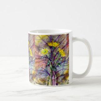 Taza De Café Las flores de la caída