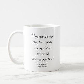 Taza De Café Las maneras de un hombre
