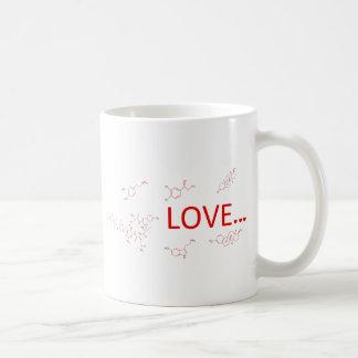 Taza De Café Las moléculas del amor…