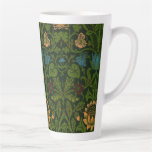 Taza De Café Latte El pintor William Morris Violet y Columbine