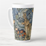 Taza De Café Latte William Morris Forest Rabbit Floral Art Nouveau