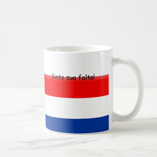 Taza De Café Le falto Holanda el Brasil