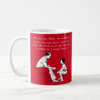 Taza De Café Lección de Pascua de Billy