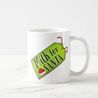 Taza De Café Leche para Santa
