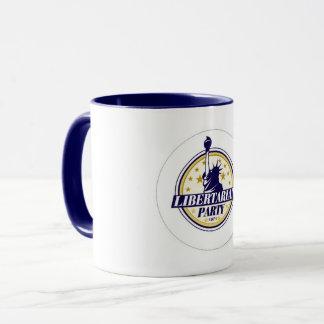 Taza de café libertaria del fiesta