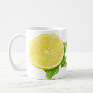 Taza De Café Limón y menta