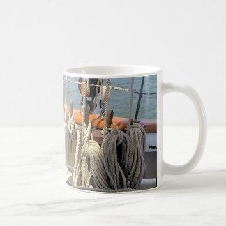 Taza De Café Líneas del velero