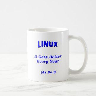Taza De Café Linux que consigue mejor
