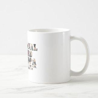 Taza De Café Llamada de contestación del abuelo del Guardia
