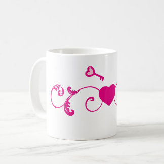 Taza De Café Llave a mi corazón