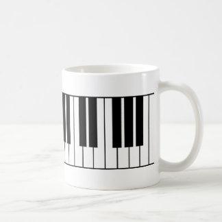 Taza De Café Llaves del piano