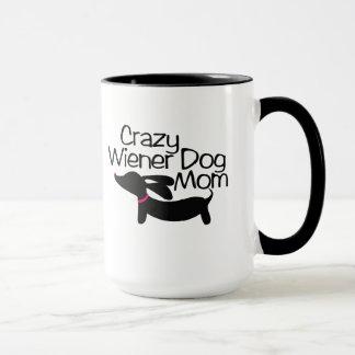 Taza de café loca del campanero de la mamá del