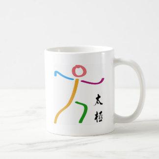 Taza De Café Logotipo de la ji del Tai