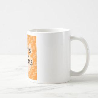 Taza De Café Logotipo del naranja del podcast de AIGTA