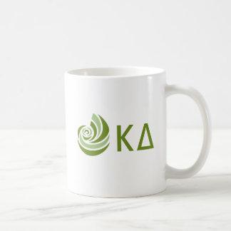 Taza De Café Logotipo grande de Lil del delta de Kappa