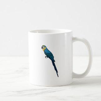 Taza De Café Loro azul