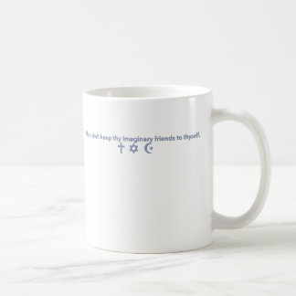 Taza De Café Los amigos imaginarios de la religión