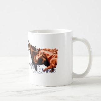 Taza De Café Los caballos nos prestan las alas que carecemos la