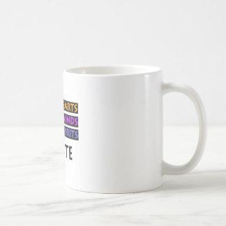 Taza De Café Los corazones buenos, mentes feroces, las bebidas