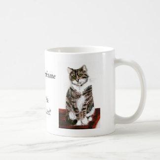 Taza De Café Los gatos de Tabby lindos son agradables