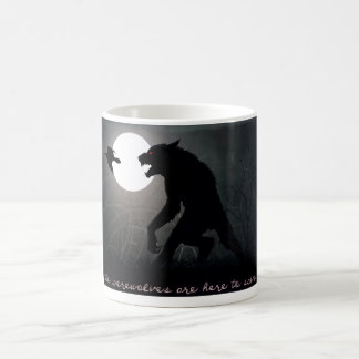 Taza De Café Los hombres lobos están aquí