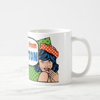 Taza De Café Los mejores chicas son de bretón del cabo