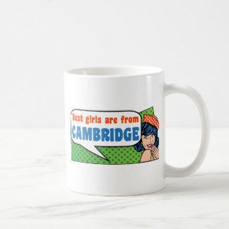 Taza De Café Los mejores chicas son de Cambridge