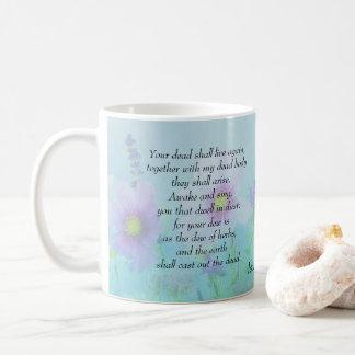 Taza De Café Los muertos vivirán, 26:19 de Isaías