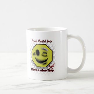 Taza De Café Los Muttahida Majlis-E-Amal sonríen, tienen Niza