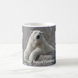 Taza De Café Los osos polares asaltan para siempre