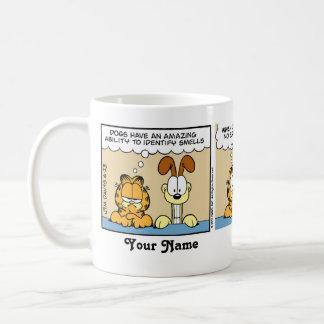 """Taza De Café Los """"perros identifican historieta de Garfield de"""