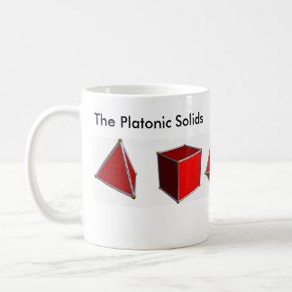 Taza De Café Los sólidos platónicos