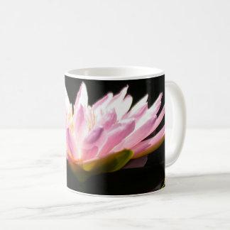 Taza De Café Lotus rosado Waterlily