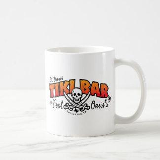 Taza De Café Lt. Barra de Tiki de Dan y mercancía del oasis de