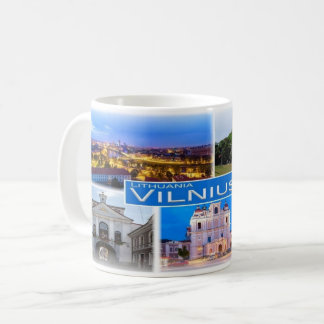 Taza De Café LT Lituania - Vilna -