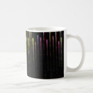 Taza De Café Luces coloreadas