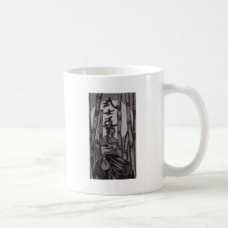 Taza De Café Luna de Bushido por Cartrer L. Shepard