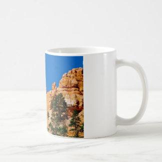 Taza De Café Luna sobre el barranco de Bryce, Utah