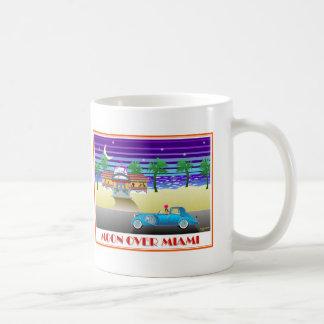 Taza De Café Luna sobre Miami